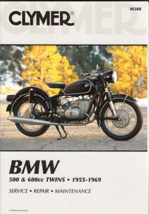 BMW 500cc, 600cc Twins 1955 - 1969 Workshop Manual