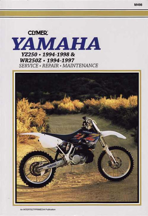 Yamaha YZ250 and WR250Z 1994 - 1998 Workshop Manual on