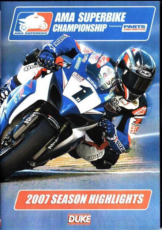AMA Superbike Championship 2007 Season Highlights DVD