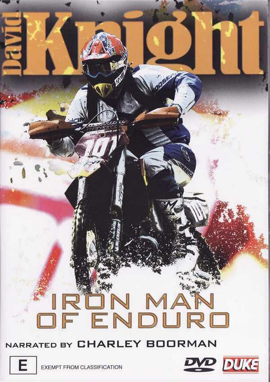 David Knight: Iron Man of Enduro DVD