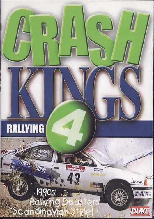 Crash Kings Rallying 4 DVD