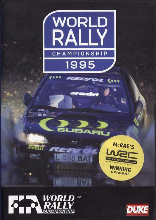 World Rally Championship 1995 DVD