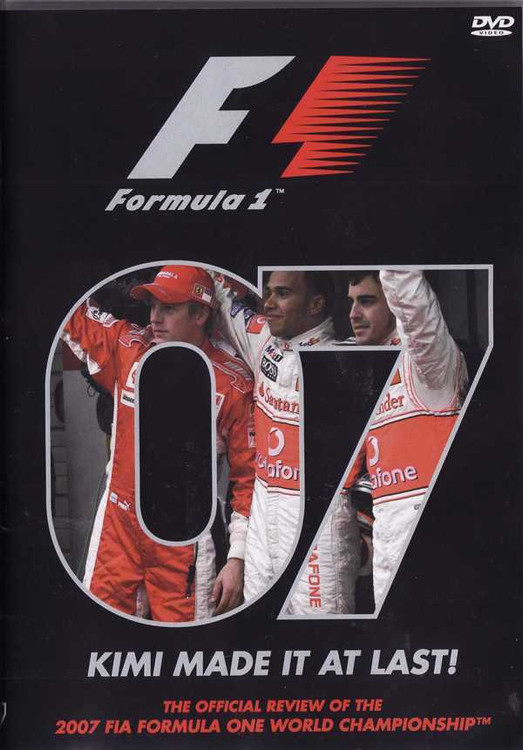 Formula One 2007: Kimi Made It At Last! DVD
