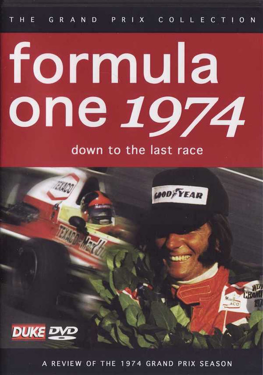 Formula One 1974: Down To The Last Race DVD