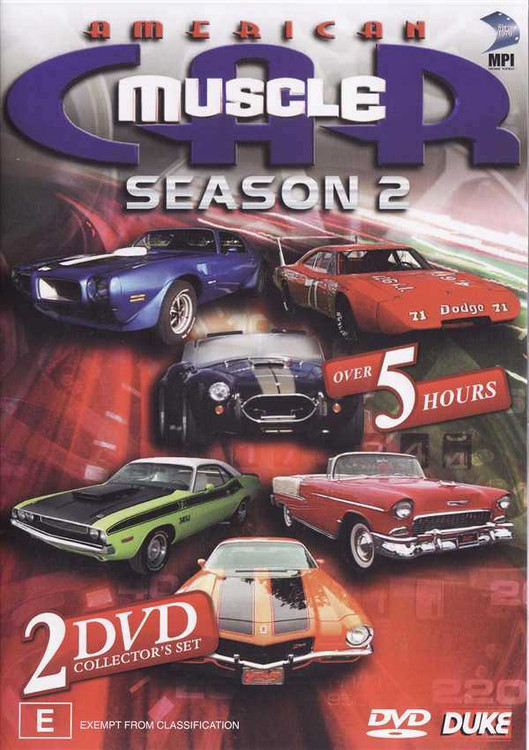 American Muscle Car: Season 2 (2 DVD Set)