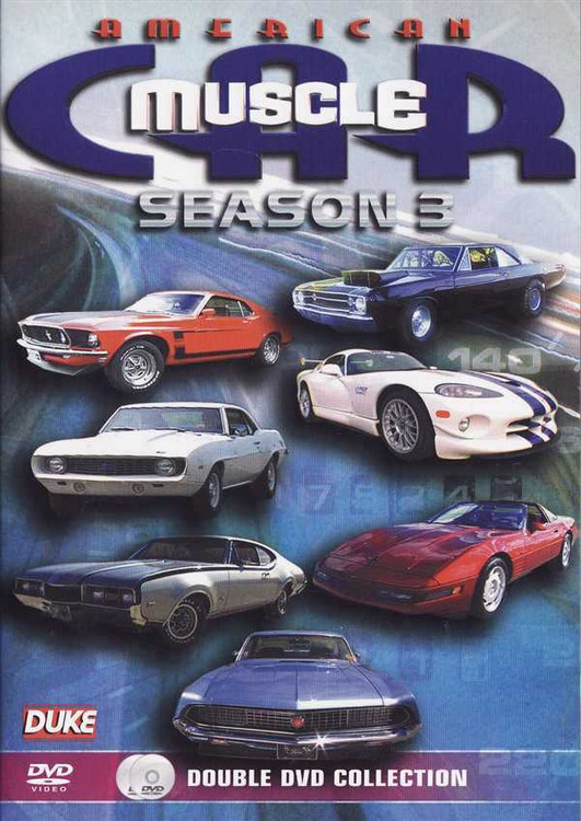 American Muscle Car: Seasen 3 (2 DVD Set)