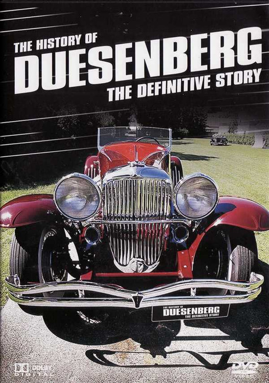 The History of Duesenberg: The Definitive Story DVD