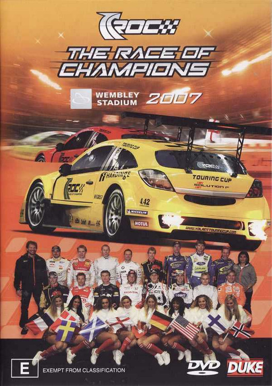 The Race of Champions 2007 DVD