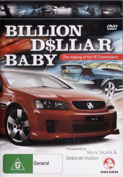Billion Dollar Baby DVD
