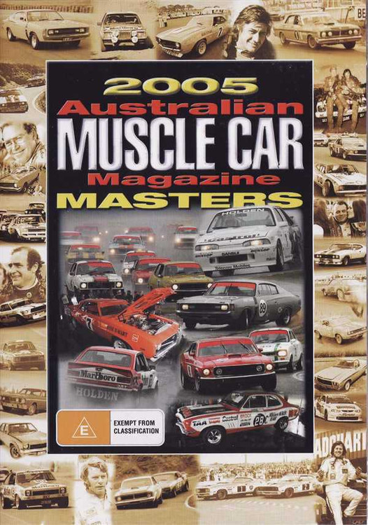 2005 Australian Muscle Car Magazine Masters DVD