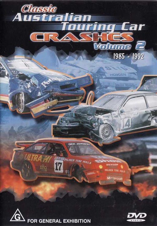 Classic Australian Touring Car Crashes 1985 - 1992 Volume 2 DVD