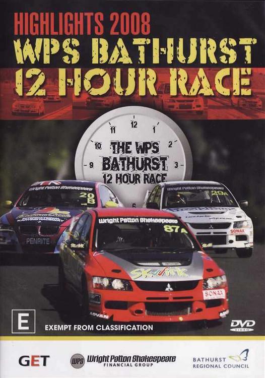 Highlights 2008 WSP Bathurst 12 Hour Race DVD