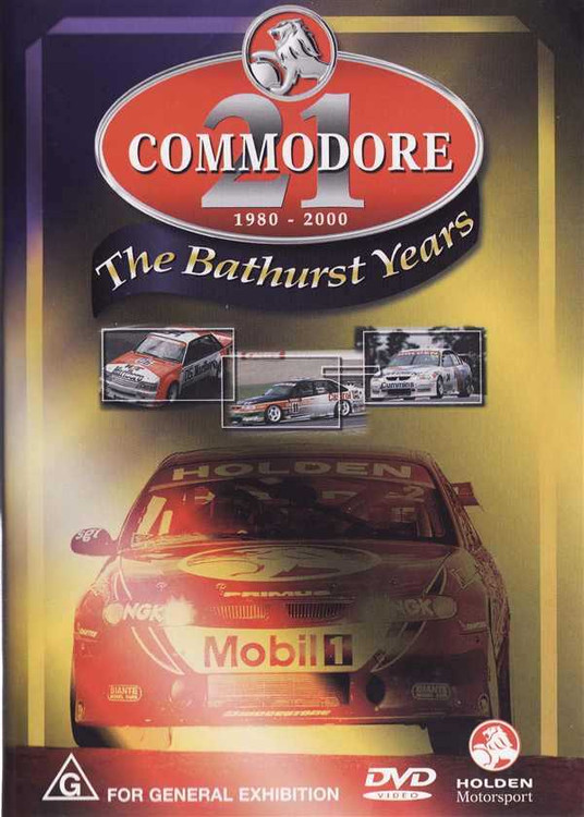 Commodore: The Bathurst Years 1980 - 2000 DVD