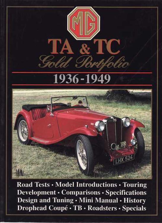 MG TA & TC Gold Portfolio 1936 - 1949