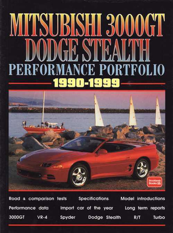 Mitsubishi 3000GT Dodge Stealth Performance Portfolio 1990 - 1999