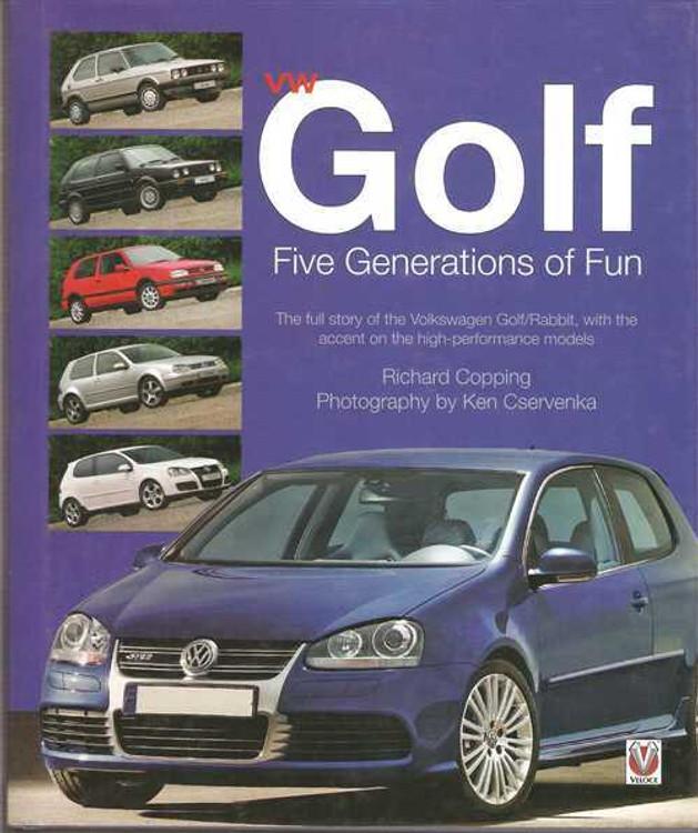Volkswagen Golf: Five Generations of Fun