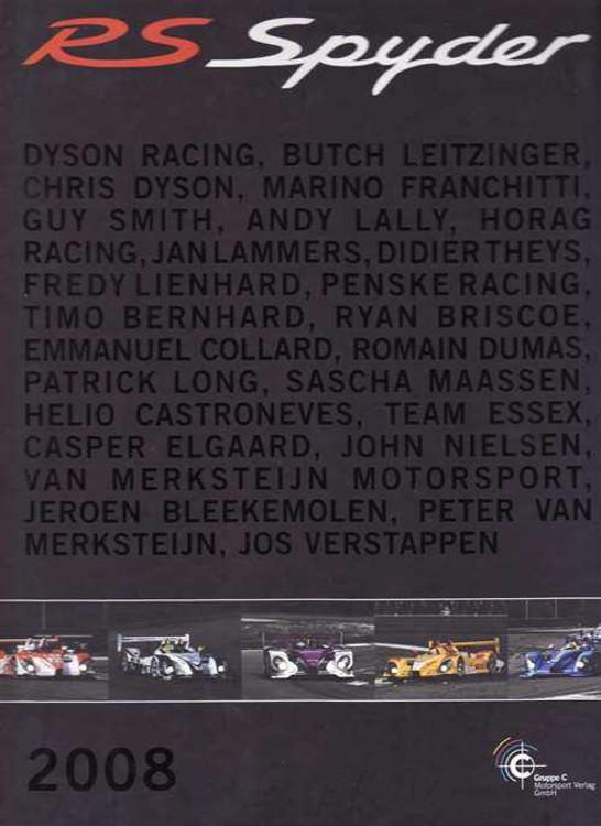 Porsche RS Spyder 2008