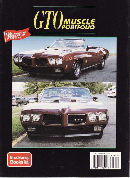 Pontiac GTO Muscle Portfolio 1964 - 1974