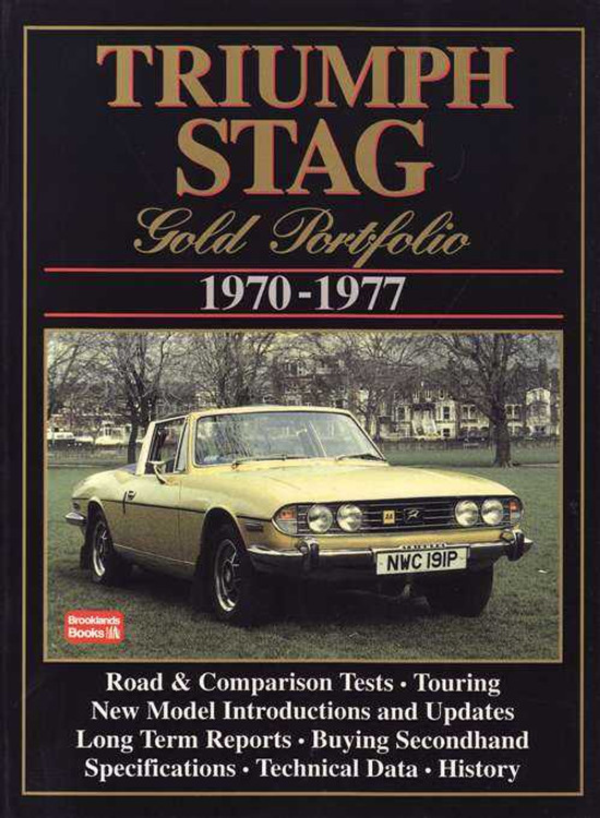 Triumph Stag Gold Portfolio 1970 - 1977