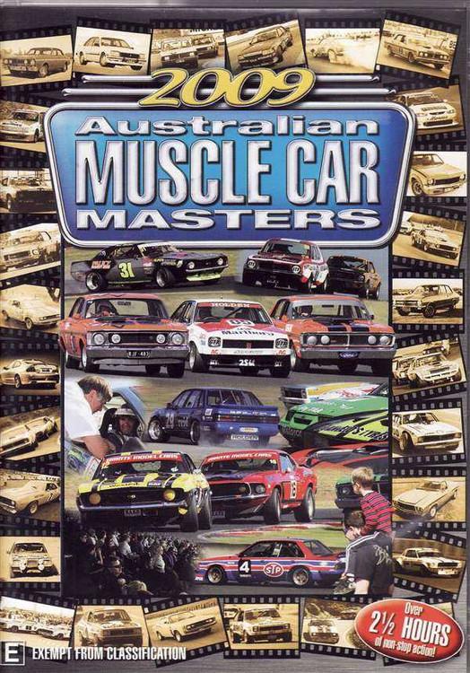 2009 Australian Muscle Car Masters DVD