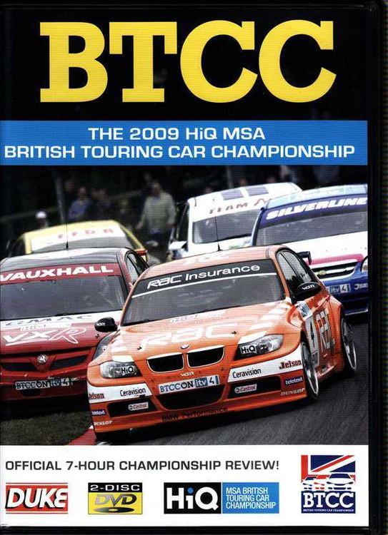 BTCC: The 2009 HiQ MSA British Touring Car Championship DVD