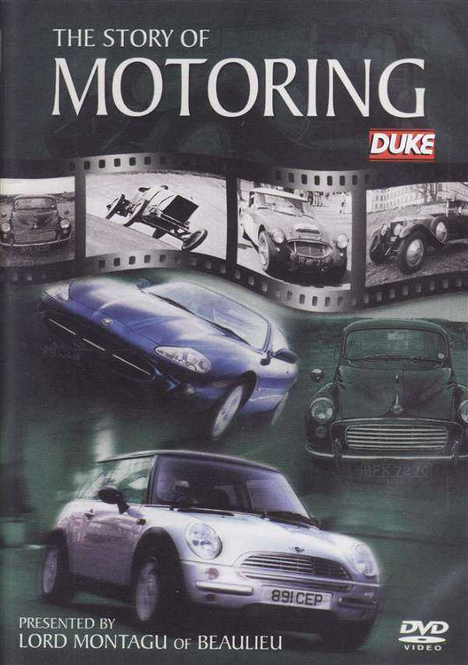 The Story of Motoring DVD