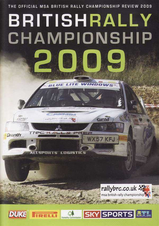 British Rally Championship 2009: The Official MSA British Rally Championship Rev