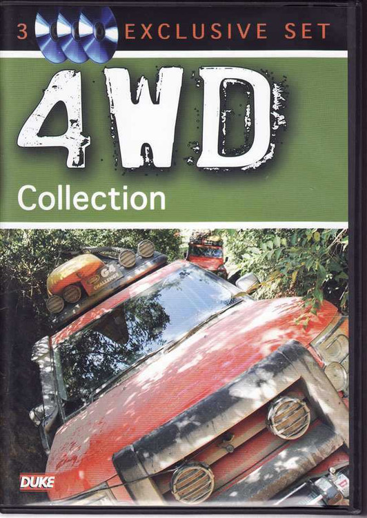 4WD Collection (3 DVD Set)