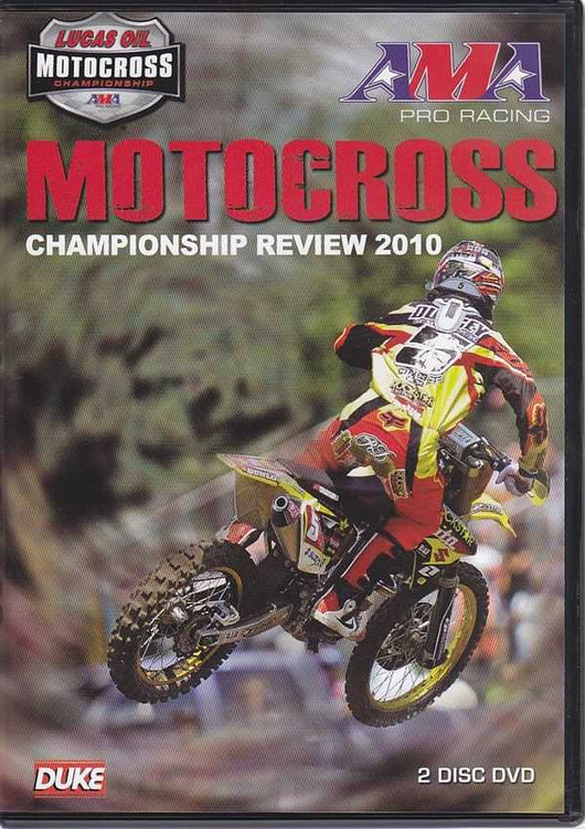 Motocross Championship Review 2010 Two DVD SET