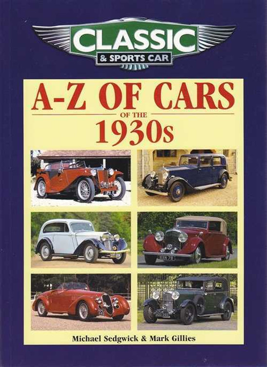 A - Z of Cars of the 1930s