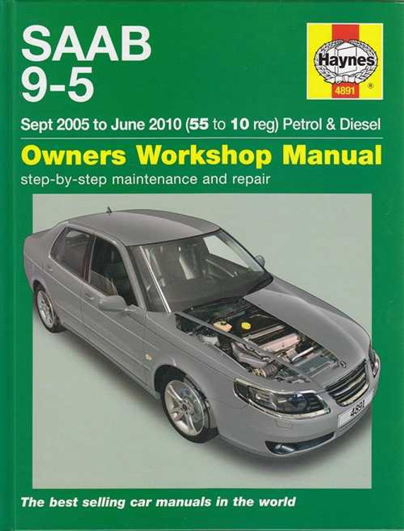 Saab 9-5 Petrol, Diesel 2005 - 2010 Workshop Manual
