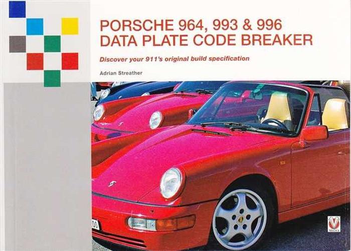 Porsche 964, 993, 996 Data Plate Code Breaker