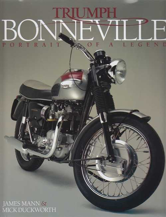 Triumph Bonneville Portrait of a Legend