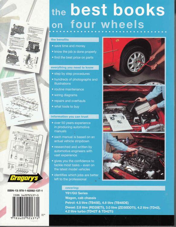 Nissan Patrol Y61 / GU Series Petrol, Diesel 1998 - 2014 Workshop Manual