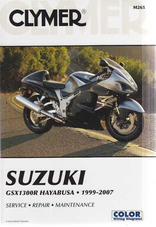 Clymer Suzuki GSX1300R Hayabusa 1999 - 2007 Workshop Manual