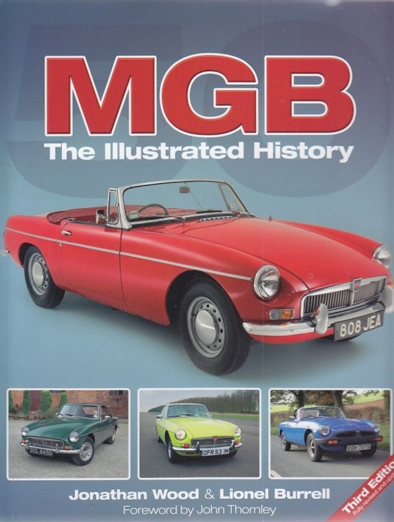 MGB The Illustrated History (3rd edition)