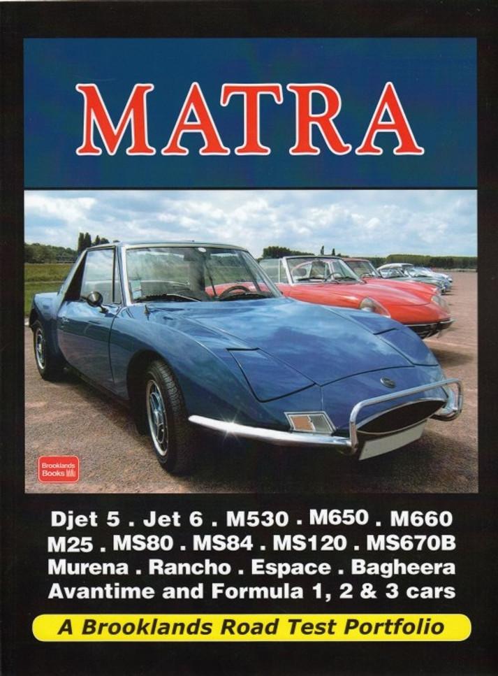 Matra A Brooklands Road Test Portfolio