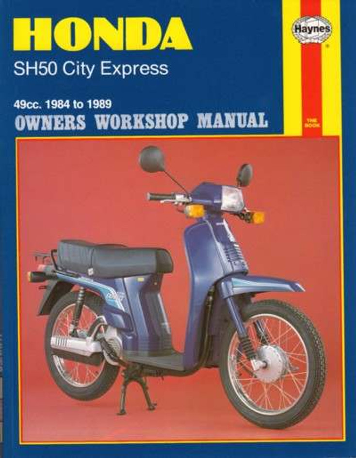 Honda SH50 City Express 49cc Repair Service Manual