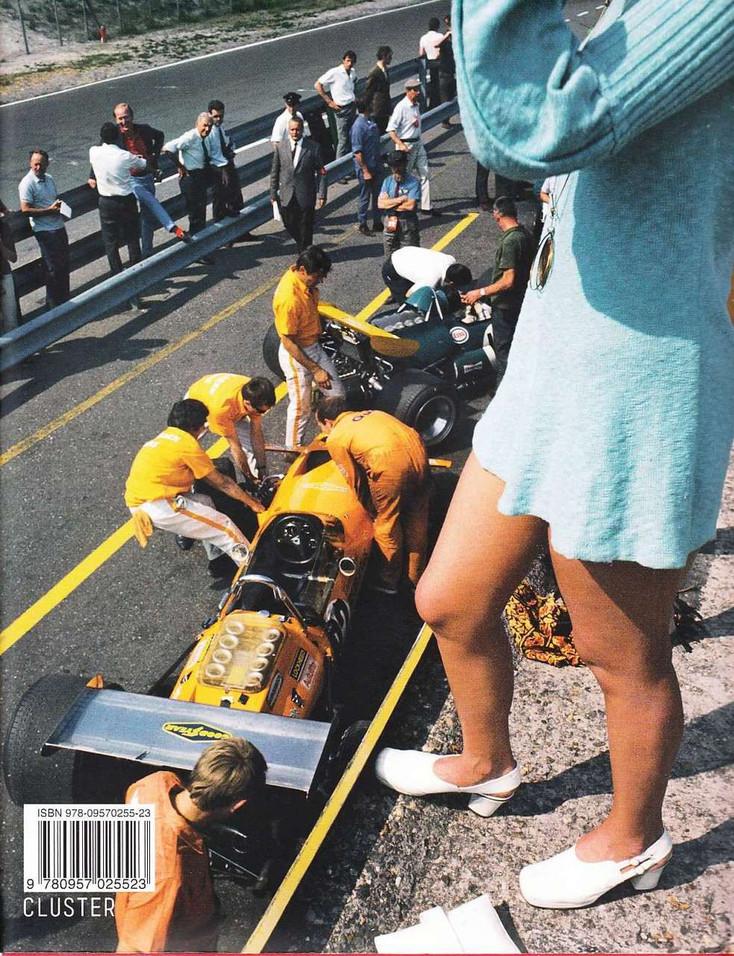 F1 Retro 1970 Back Cover