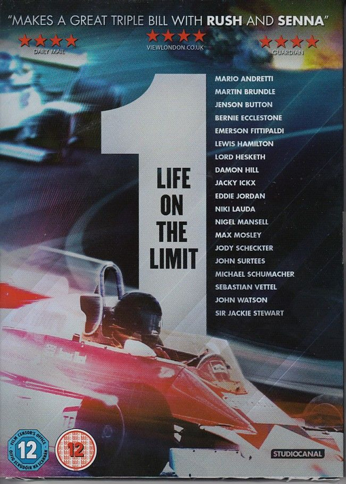 1 Life On The Limit DVD