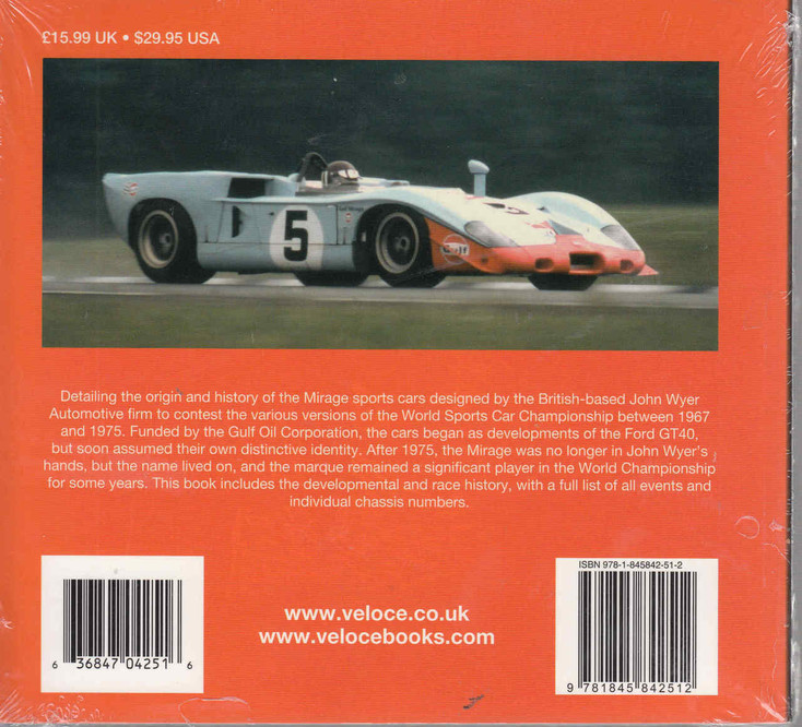 Gulf - Mirage 1967 to 1982 WSC Giants Series - back