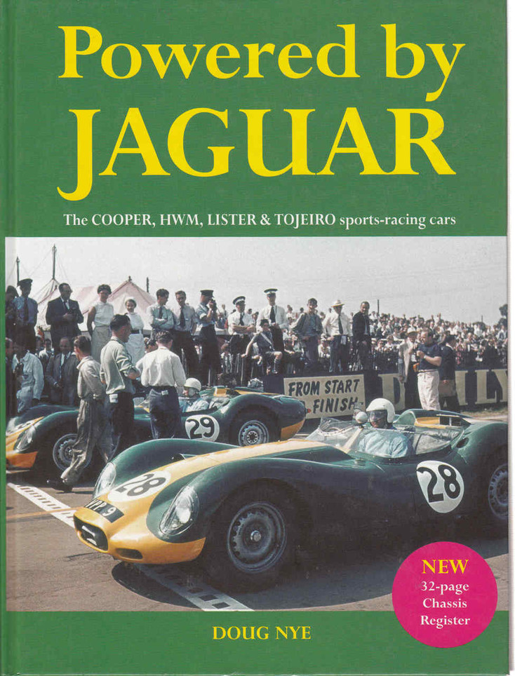 Powered by Jaguar: The Cooper, HWM, Lister & Tojero sports-racing cars  - front