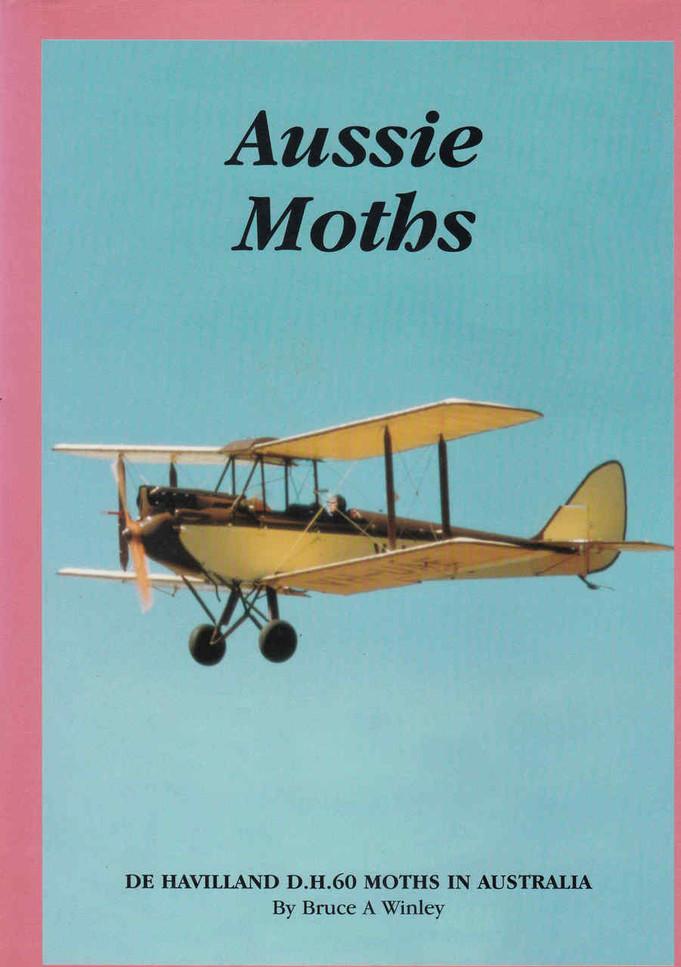 Aussie Moths: De Havilland D.H.60 Moths In Australia (0646330802) - front