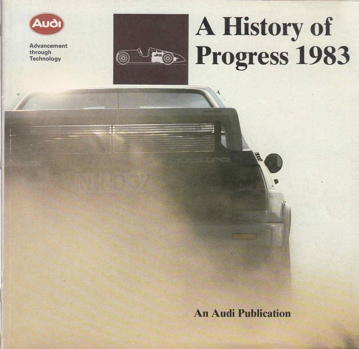 Audi: A History Of Progress, 1983 (Audi) (AUDI113)
