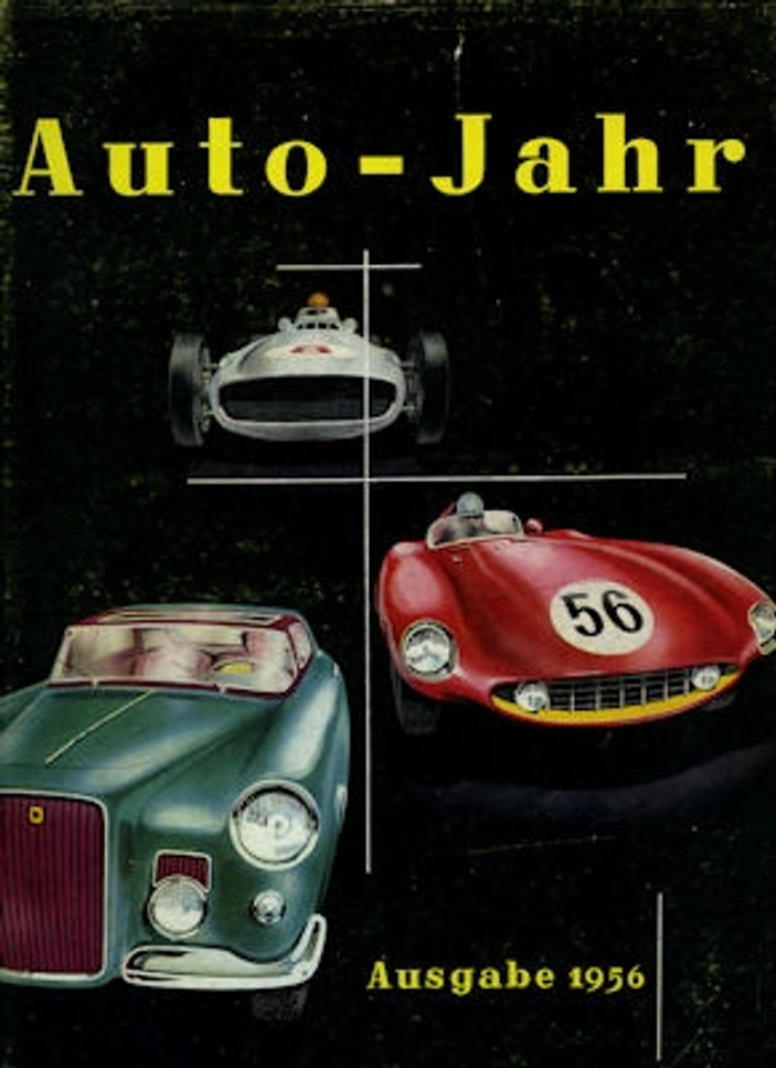 Auto-Jahr  No.2  1955-1956 (German Text)