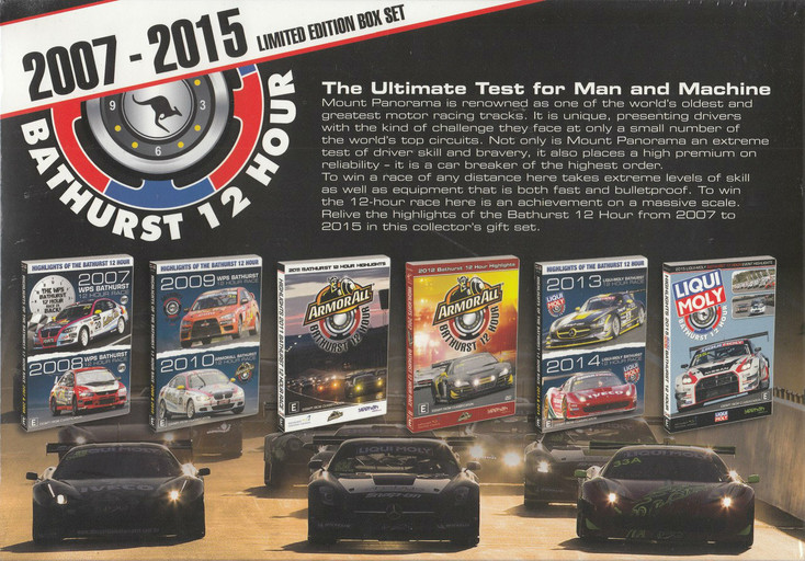 Bathurst 12 Hour 2007 - 2015 – Ultimate Test for Man & Machine - Limited Edition DVD SET