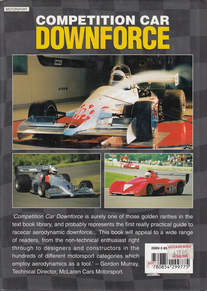 Competition Car Downforce A Practical Guide (Simon McBeath)