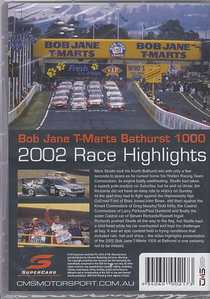 Bob Jane T-Marts Bathurst 1000 2002 Race Highlights DVD (9340601002173)
