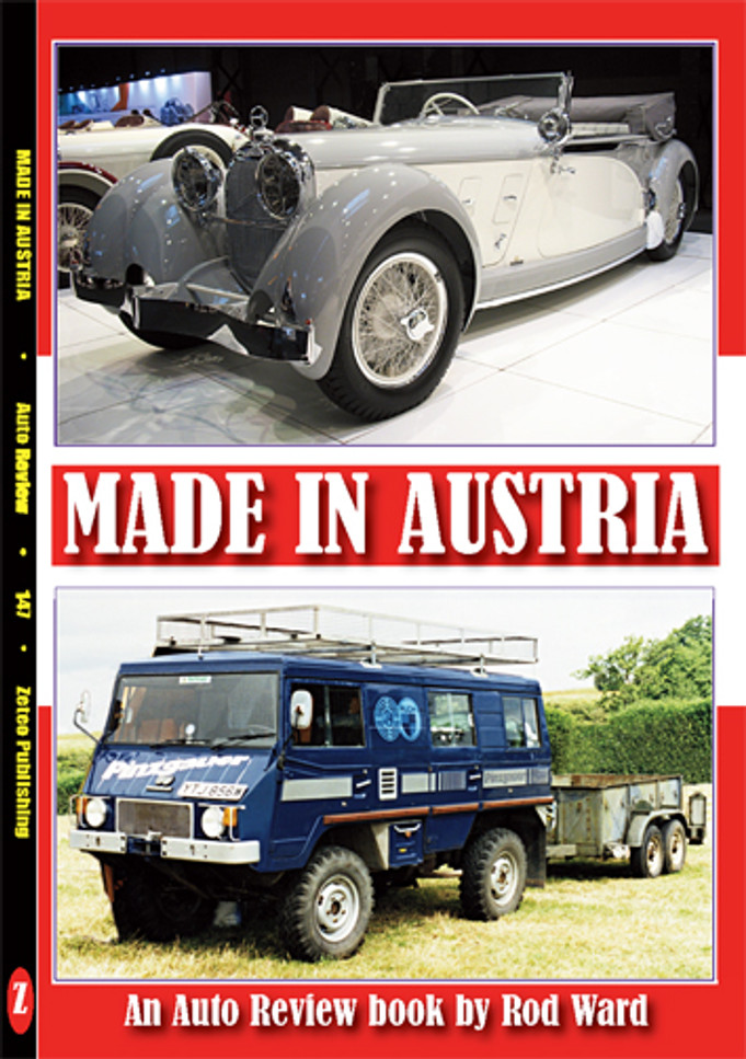 Made in Austria An Auto Review Book by Rod Ward (Auto Review No. 147) (9781854821464)