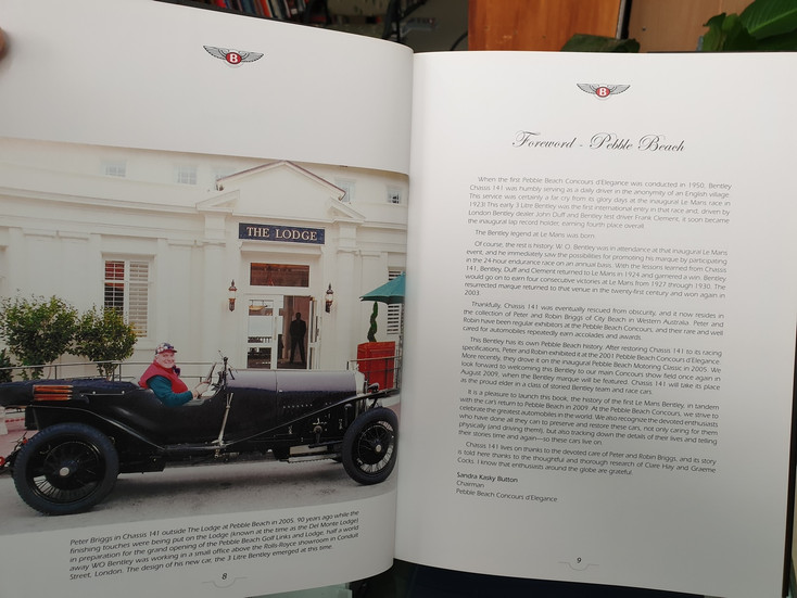 Chassis 141 - The Story of The First Le Mans Bentley (Clare Hay)
